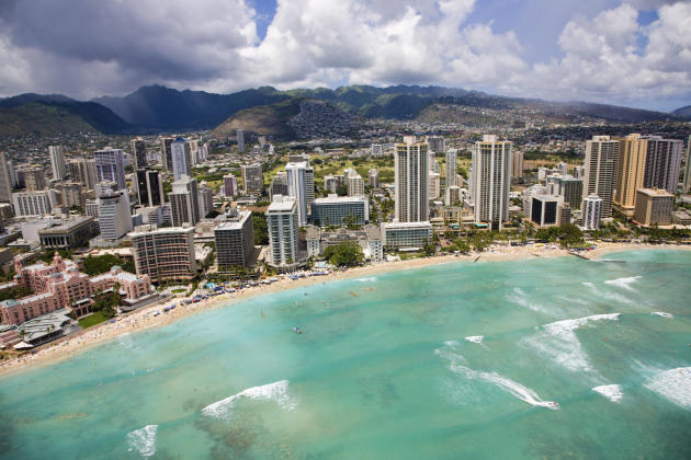 Life is expensive in Honolulu, Hawaii, with many goods being transported from the mainland.