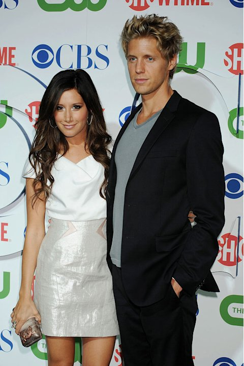 &quot;Hellcats'&quot; Ashley Tisdale and Matt Barr arrive at the TCA Summer 2010 CBS/The CW/Showtime &quot;Star Party in the Tent&quot; on July 28, 2010 in Beverly Hills, California. 
