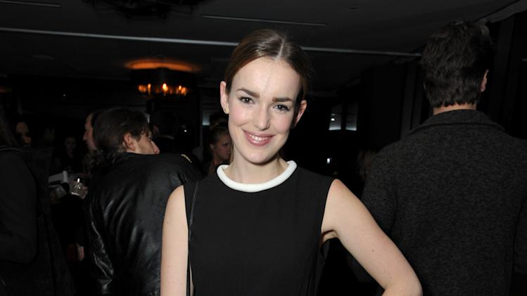 Elizabeth Henstridge attends the DETAILS Hollywood Mavericks Party hosted by Dan Peres at Soho House on Thursday, Dec. 5, 2013, in West Hollywood, Calif. (Photo by John Shearer/Invision for DETAILS Magazine/AP Images)