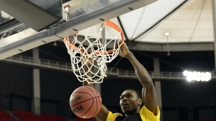 NCAA Basketball: NCAA Tournament-Wichita State Practice