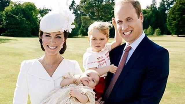 Princess Charlotte Looks Adorable in New Pics Taken by Kate Middleton