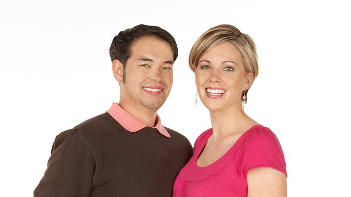 "Jon and Kate Gosselin as seen on ""Jon & Kate Plus 8."""