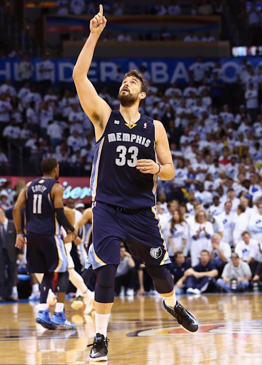 Memphis Grizzlies v Oklahoma City Thunder - Game Five