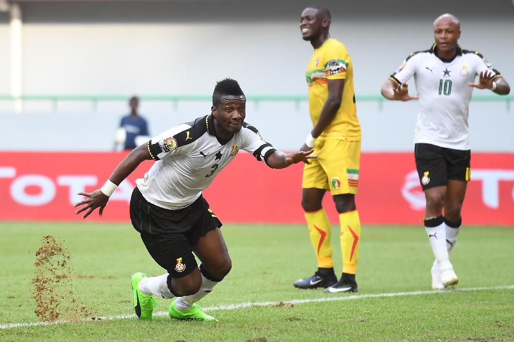 Gyan steers Ghana into Cup of Nations quarter-finals