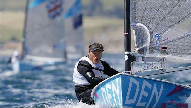 Hogh-Christensen remains ahead of Ainslie at Olympics