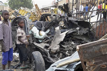 Death toll in Nigerian twin bomb attack rises to 46