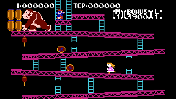 Father Hacks 'Donkey Kong' to Let Daughter Play as Girl