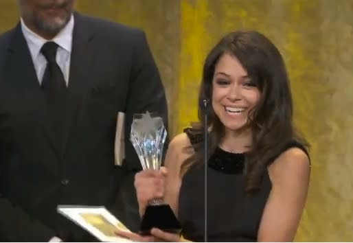 Critics' Choice Awards: Watch Orphan Black's Tatiana Maslany Win Best Actress