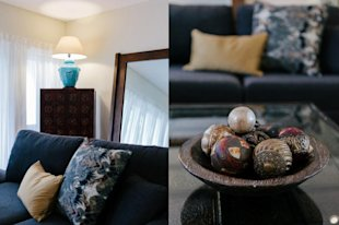 The living room - it's all in the details.