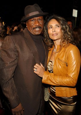Ving Rhames and wife at the NY premiere of Paramount's Mission: Impossible III