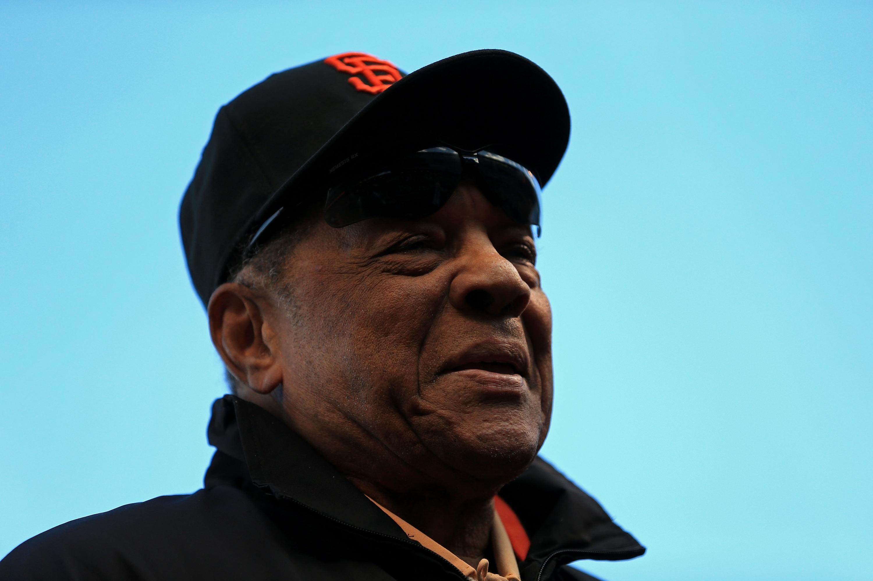 San Francisco connects two icons in honor of Willie Mays' birthday