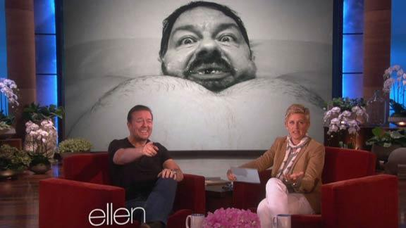 Ricky Gervais' Creepy Selfies and Pet Pics
