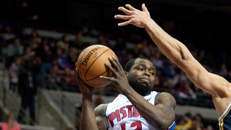 NBA: Utah Jazz at Detroit Pistons