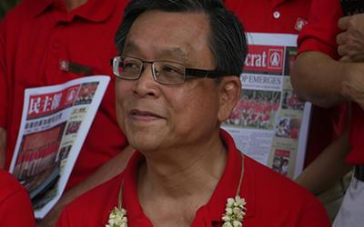 SDP's an Jee Say rebuts criticisms from PAP ministers. (Yahoo! file photo)