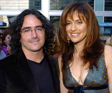 Director Brad Silberling and wife Amy Brenneman at the Hollywood premiere of Paramount Pictures' Lemony Snicket's A Series of Unfortunate Events