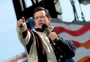 Stephen Colbert Running for President?