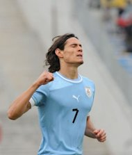O artilheiro Cavani  o maior destaque da seleo uruguaia