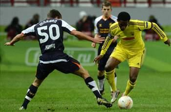 Anzhi Makhachkala 1-0 Liverpool: Traore on target as Russians leapfrog Reds