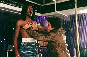Snoop Dogg and Ben Stiller in Warner Bros. Starsky & Hutch