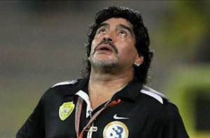Maradona: I no longer want to work in soccer