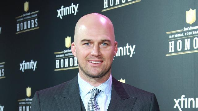 Matt Hasselbeck of the Tennessee Titans arrives at the 2nd Annual NFL Honors, on Saturday, Feb. 2. 2013 in New Orleans (Photo by Dario Cantatore/Invision/AP)