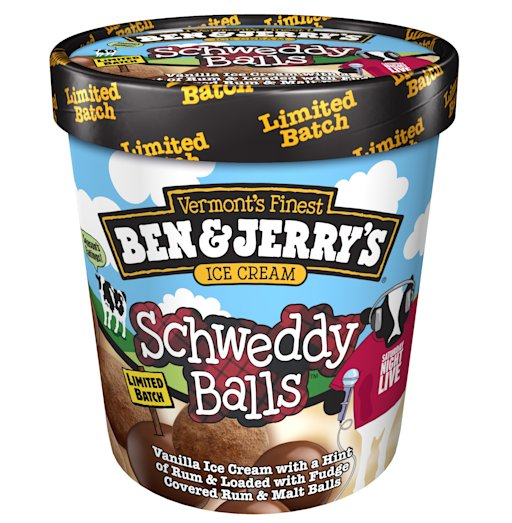 schweddy balls ice cream
