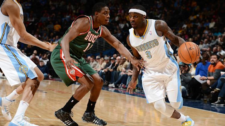 Chandler leads Nuggets past Bucks, 110-100