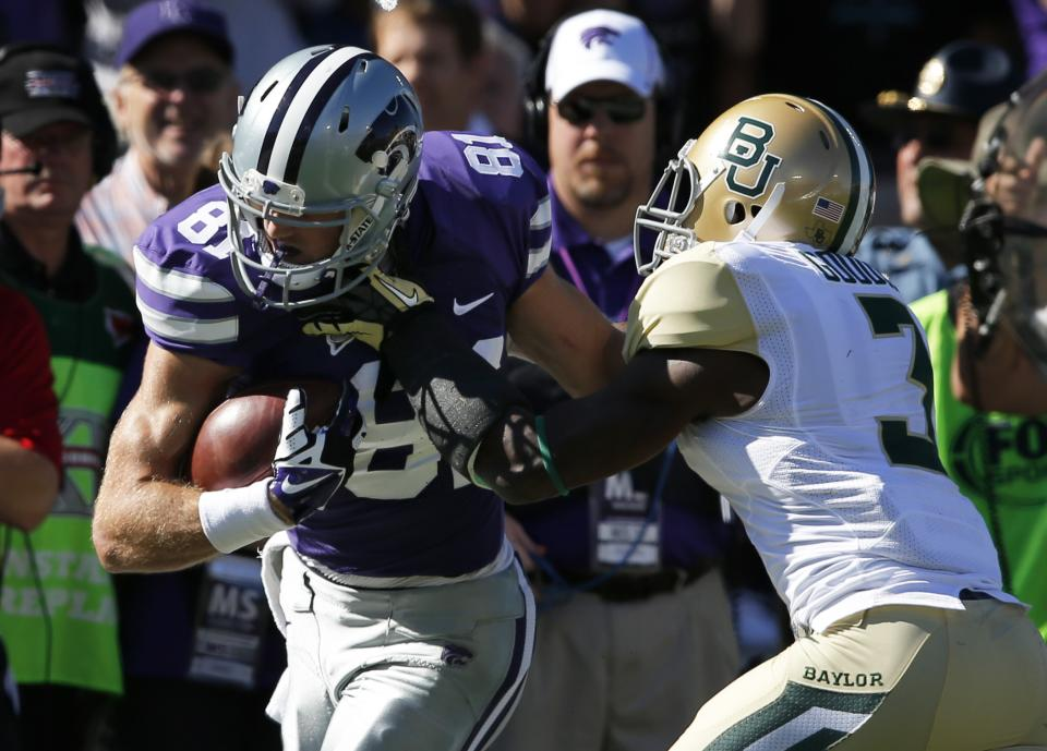 No. 15 Baylor escapes with 35-25 win over K-State