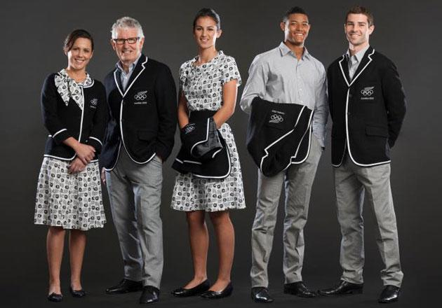 New Zealand Olympic Uniform 2012
