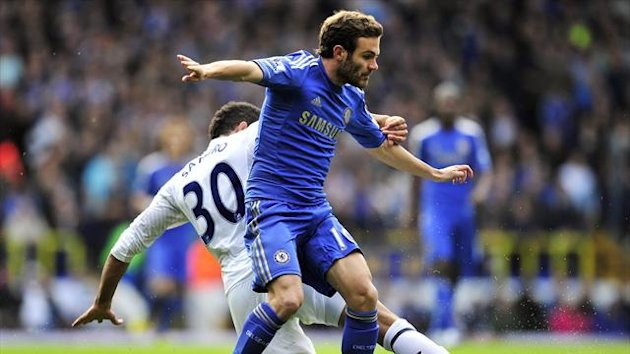 Juan Mata Chelsea Tottenham