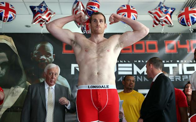 Boxing - David Price v Tony Thompson Weigh-in - Radisson Blu Hotel