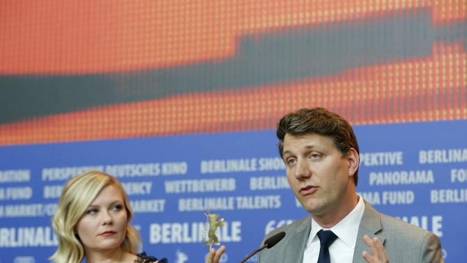 Director Nichols and actress Dunst attend news conference at 66th Berlinale International Film Festival in Berlin
