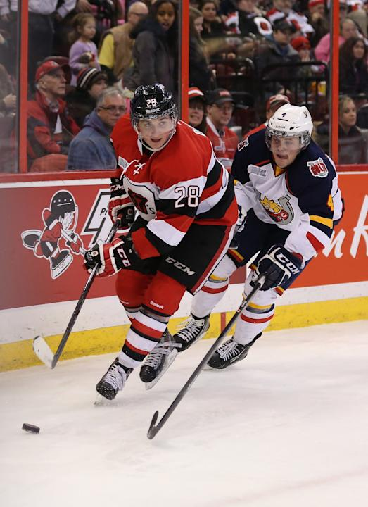 Barrie Colts v Ottawa 67's