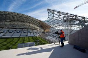 Space-age stadium: Inside Marseille's new home