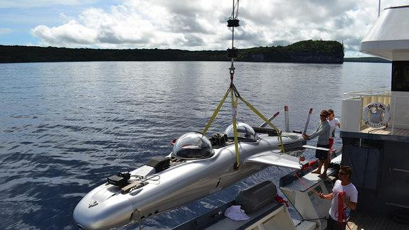 'Super Falcon' Submarine Aims to Fly Underwater