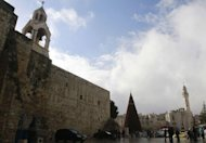 <p>The Church of the Nativity, in of Bethlehem, the traditional birthplace of Jesus December 21, 2012. This year's celebration carries special significance for many Palestinians, coming after 12 months in which their status on the world stage has been significantly upgraded.</p>