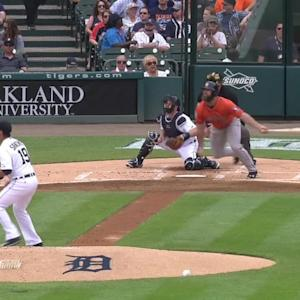 Gattis' two-run triple