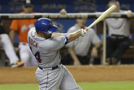 Marlins beat Mets 4-3 in 15 innings