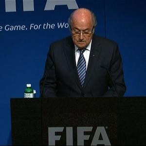 Newly Re-Elected FIFA President Resigns