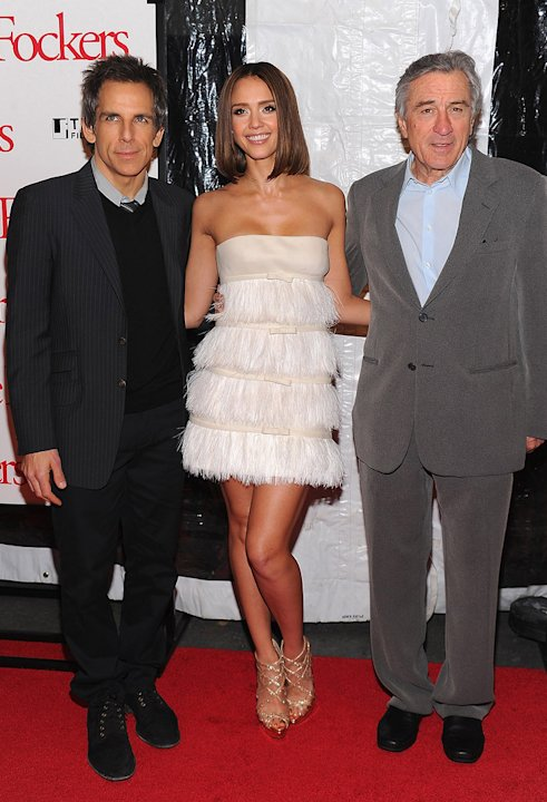 Little Fockers 2010 NY Premiere Ben Stiller Jessica Alba Robert DeNiro