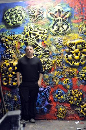 Stroke of Genius: Artist Dazzles with 3D-Printed Paintings