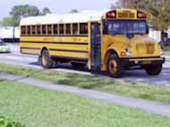 School bus.  Start getting ready for school now!