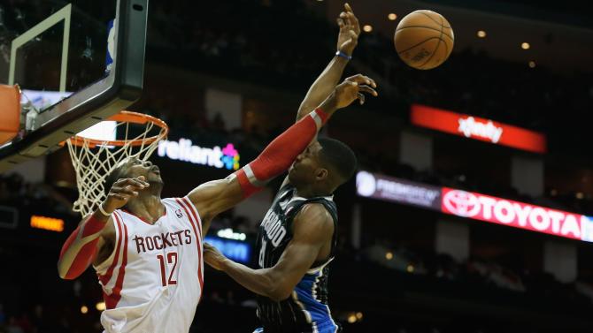 Howard, Harden lead Rockets over Magic 98-88