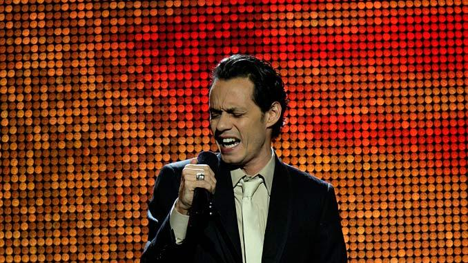 Marc Anthony performs on Movies Rock.