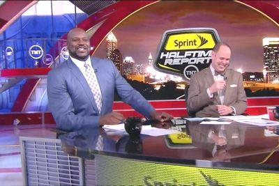 Shaq does a flawless impression of a Louisiana accent