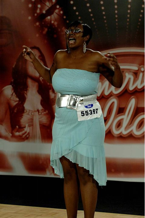 Charleston contestant: Aretha Codner, 22, Buffalo, NY auditioning on the 7th season of American Idol.