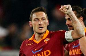 Roma 1-0 Juventus: Champions shocked by Totti thunderbolt