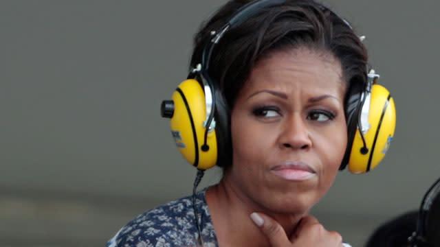 Michelle Obama, Dr. Jill Biden Draw Boos at NASCAR Event