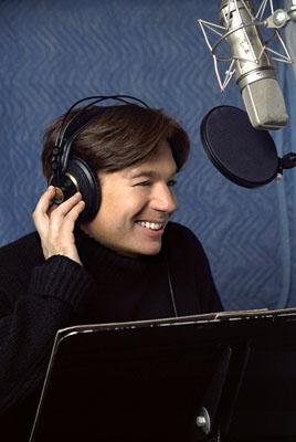 Mike Myers is the voice of the ornery ogre Shrek, whose swamp has beenoverrun by banished fairy-tale characters in DreamWorks Pictures' computer animated comedy Shrek