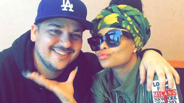 Blac Chyna Is Pregnant! Rob Kardashian and Fiancée  Expecting First Child Together